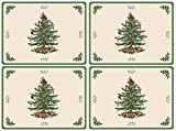 Spode Christmas Tree Hardback Placemats, Set of 4