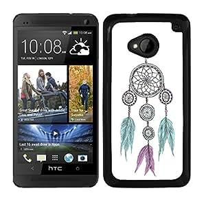 FUNDA CARCASA PARA HTC ONE M7 DISEÑO CAZASUEÑOS MOD.17