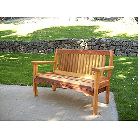 Wood Country Cabbage Hill Red Cedar Outdoor Garden Bench - Amazon.com : Wood Country Cabbage Hill Red Cedar Outdoor Garden