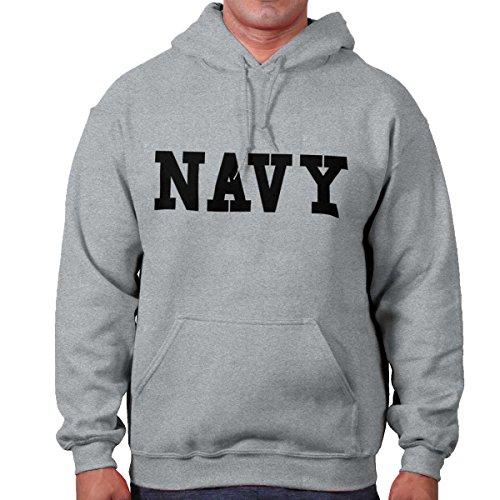 Brisco Brands Navy USA Shirt Military America Army Marines Veteran Gun Cool Hoodie Sweatshirt