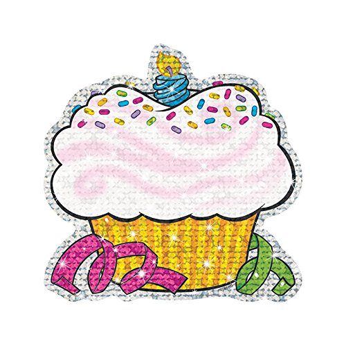 - TREND enterprises, Inc. Birthday Cupcakes Sparkle Classic Accents, 24 ct