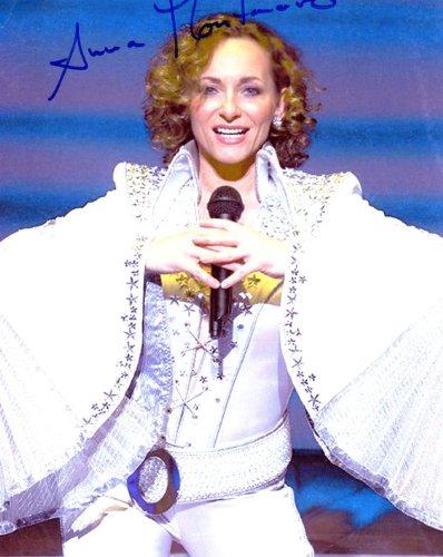 Anna Montanaro Autographed Signed White Jumpsuit Photo AFTAL