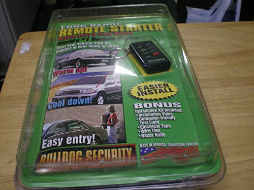 Bulldog Security Long Range Remote Starter Model RS114