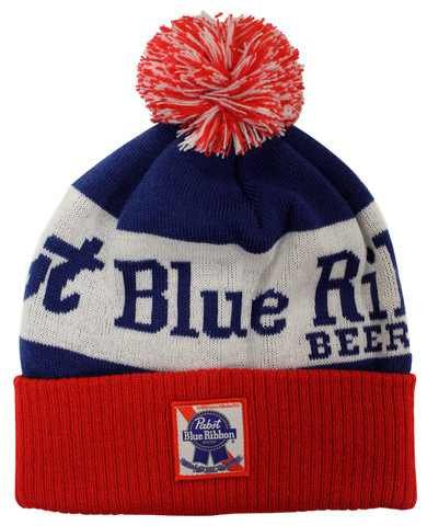 pabst-blue-ribbon-pbr-beer-red-white-and-blue-beanie-cap