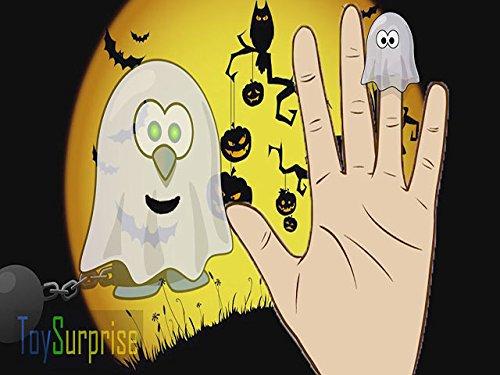 (Finger Family Song Halloween)