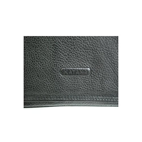 Katana - Sac Besace Cuir Vachette - Noir