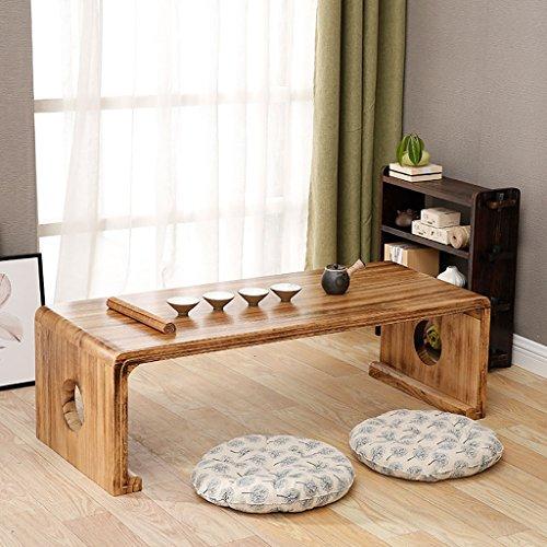 planche a repasser Tables d'ordinateur simple table en bois massif Table basse de baie vitrée Table de bureau longue table de bureau Table à repasser (taille : 60*40*30cm)