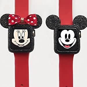Black Glitter Apple Watch HIS&HERS CASE by ShopBareNecessities