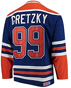 Wayne Gretzky Edmonton Oilers Blue Heroes of Hockey Authentic Jersey