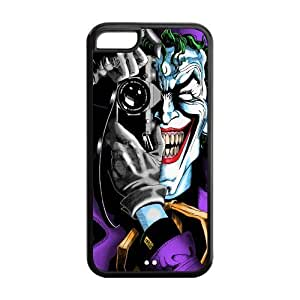 CreateDesigned Batman Joker Snap-On Back Fits Case Cover for iPhone 5C (Cheap iPhone 5) SKU-I5CCD00099