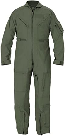 Genuine Issue GI CWU 27P Flyers Nomex Coveralls FR Flight Suit Sage Green  (30MS Women s 0a5b3d95f72