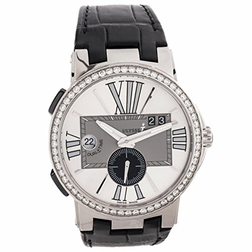 Ulysse-Nardin-Executive-Dual-Time-automatic-self-wind-mens-Watch-243-00B421-Certified-Pre-owned