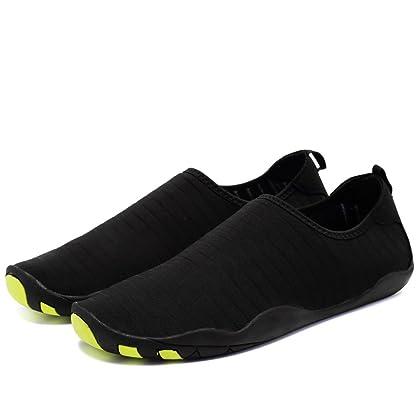 ... CIOR Water Shoes Men Women Aqua Shoes Barefoot Quick-Dry Swim Shoes  with 14 Drainage ... 3063bfabc