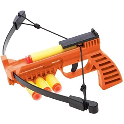NXT GENERATION Crossbow Pistol Orange - Accurate Pistol Target Practice - Practice Target Play for Kids - Incl 3 Safe Foam Suction Cup Dart Projectiles and Built in Quiver: Toys & Games