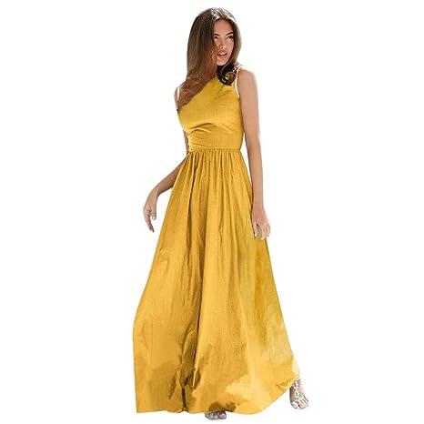 Vestidos Largos Mujer Sunnsean 2019 Vestidos Elegante Casual