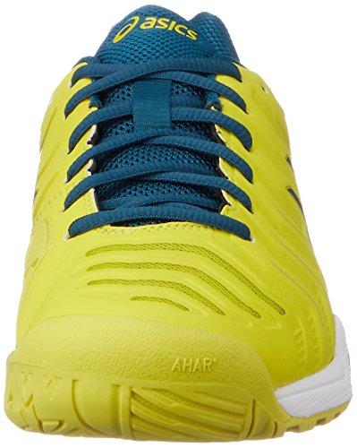 Asics Gel-Challenger 11, Scarpe da Tennis Uomo Giallo (Sulphur Spring /Ink Blue/Silver)