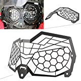 GZYF Motorcycle Stainless Steel Headlight Grille