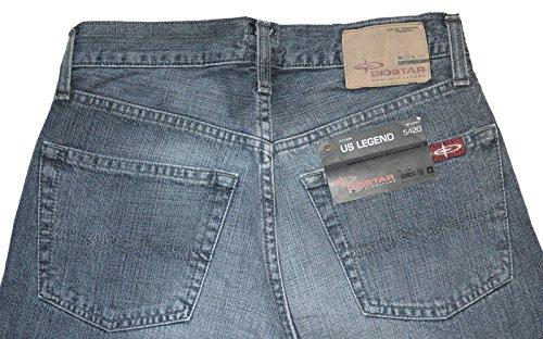 Big Star US Legend 5420.10.91 Jeans Hose W28L34, Grau