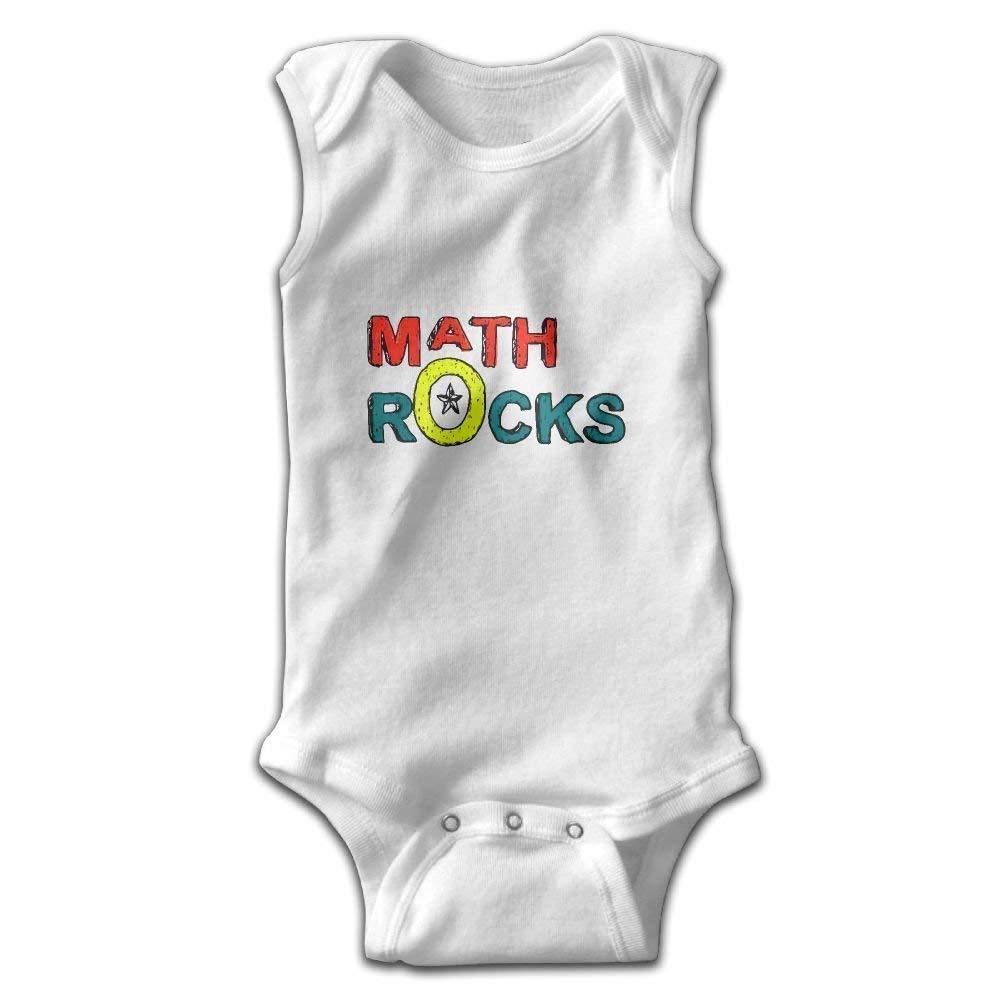 Toddler I Love Math Rock Onesies Bodysuits