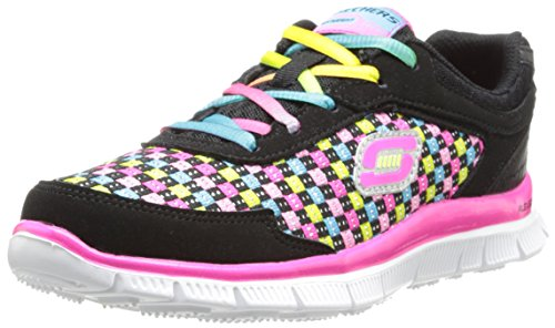 Skechers Skech Appeal Freeflyer - Zapatillas de deporte, Niñas Multicolor (BKMT)
