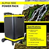 ExpertPower Alpha1900 Lithium Power Station | 1886Wh Solar Generator with 2000W AC Inverter (4000W Peak), USB, 12V Car Socket Output for Camping, Emergency and Back-up Power Supply