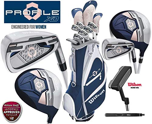 Wilson Profile XD Package Women's Complete Golf Set New 2020