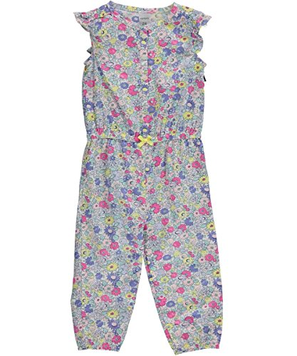 Carters Girls Countryside Blossoms Jumpsuit