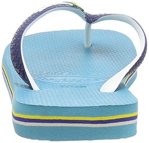 Havaianas Brasil Mix, Chanclas Unisex Adulto Multicolor (Blue 0031)