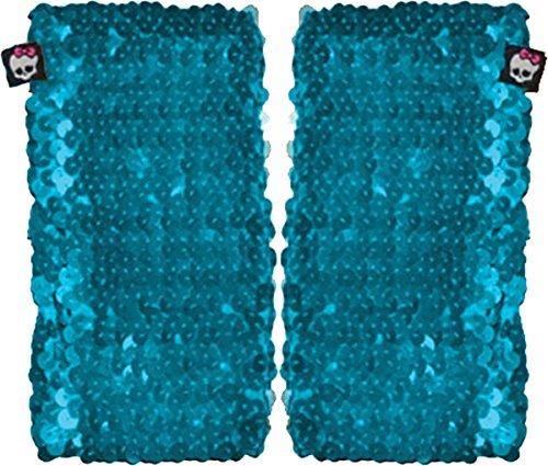 [Monster High Blue Sequence Arm Warmer] (Monster High Arm Warmer)