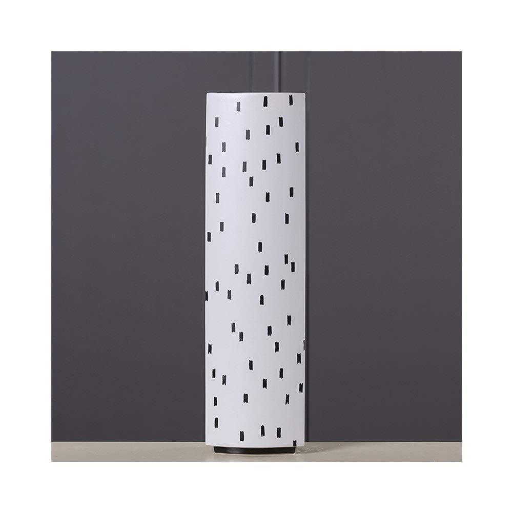 セラミック花瓶モデル部屋の装飾クリエイティブホームフラワー花瓶装飾 (Edition : D) B07T2GWCK6  D