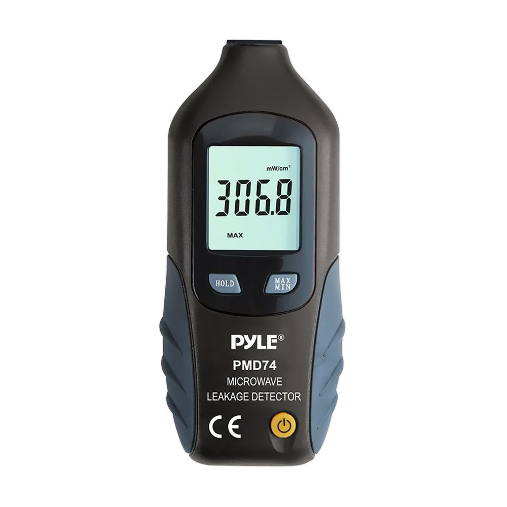 Sound Around 9 Volt High Precision Premium Pyle Microwave Radiation Meter Leak Detectors Radiation Test LED Microwave Oven Testers Pyle Meters PMD74 Highly Sensitive Long Life Battery HI No Recalibration Needed
