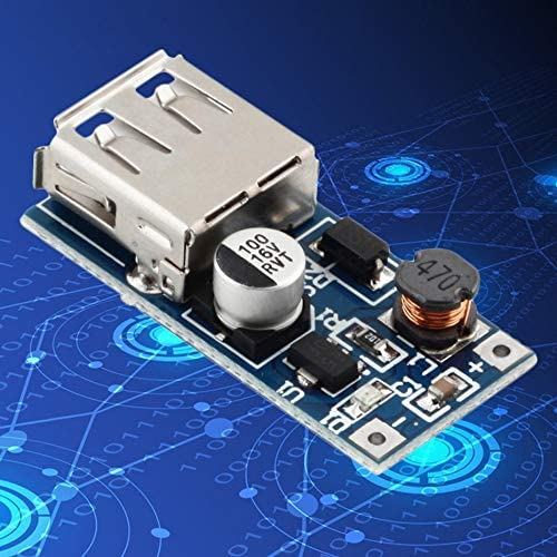 High Efficiency 0.9V-5V to 5V 600MA DC-DC Booster Module USB Mobile Step-up Professional Power Supply Module