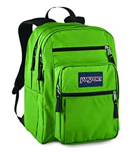 JanSport Big Student Backpack Hedge Green One Size