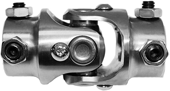 9//16-26 SPLINE TO 3//4 SMOOTH FOR WELDING HIGH STRENGTH BLACK OXIDE UNIVERSAL JOINT WITH NEEDLE BEARINGS 30 DEGREES OF USE ON STEERING SHAFT COLUMN BOX RACK NEW SOUTHWEST SPEED STEERING U-JOINT
