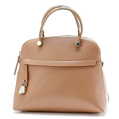 594f0d704b87 Amazon | フルラ(FURLA) パイパーMドームハンドバッグ【ライトブラウン/**】 | Amazon Fashion