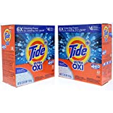 2 Pk. Tide Plus HE Ultra OXI Acti-Lift Crystal Powder Laundry Detergent 39 Oz. (44 Loads Total)