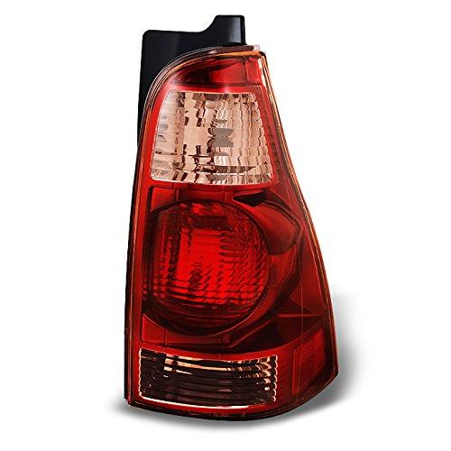 For Toyota 4Runner SUV Red Amber Rear Tail Light Brake Lamp Brake Light Passenger Right Side Replacement