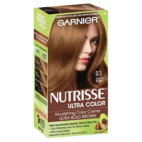 Garnier Nutrisse Ultra Color [B3] Golden Brown 1 ea (Pack of 10) by Garnier