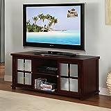 K&B Furniture 42 in. TV Stand - Dark