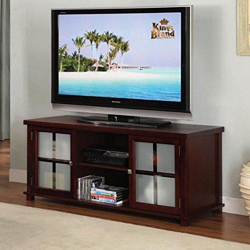 K&B Furniture 42 in. TV Stand – Dark