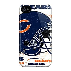 AaronBlanchette Iphone 6plus High Quality Hard Phone Cases Allow Personal Design Realistic Chicago Bears Image [poV8742mOpk]