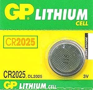 GP Batteries CR2025 lithium coin cells
