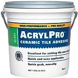 Custom Building Products 4000 Acrylic Ceramic Tile Mastic, 1-Gallon