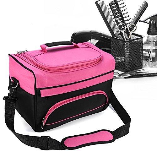 n Handbag Hairdressing Tools Bag Portable Scissors Comb Holder Bag Hairstyling Travel Case ()