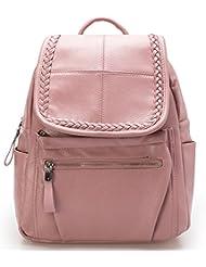 HaloVa Womens Backpack, Multifunctional Fashion Travel Rucksack, Casual School Bag