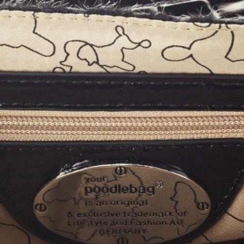 Poodlebags Funkyline - noble&smart - Saturday 3FL0812SATUB - Bolso con asas para mujer Negro