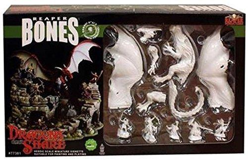 Reaper Miniatures 77381 Bones - DHL - Dragons Donat Share Boxed by Reaper Miniatures