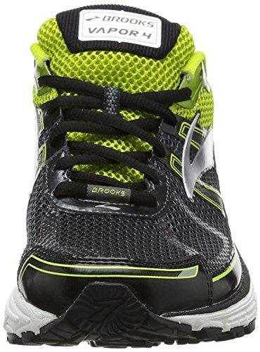 Brooks Vapor 4, Zapatos para Correr para Hombre Multicolor (Anthracite/limepunch/silver)