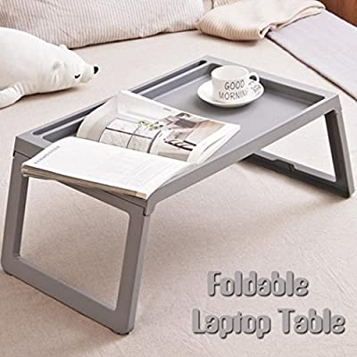 portable foldable laptop table plastic folding dining picnic desk Bed tray large gaming coffee table book for kids girls women men