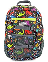 Hugger Mountaineer kids cute Cartoon Backpack Gift for school Toddlers 4+ years (Dinos)